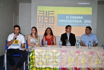 (esq. p/ dir.): Jober Sobczak; Rafaella Pessoa; Albanise Marinho; Aristeu Rosendo; Gustavo Henn