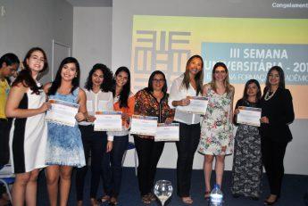120 estudantes receberam prêmios, certificados ou menções honrosas