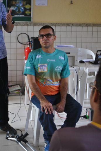 Edivaldo Prado, fundador do Centro Paradesportivo que leva seu nome.