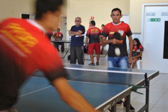 "Segunda etapa do 'Circuito cearense de tênis de mesa paralímpico"" é realizada na Unilab."