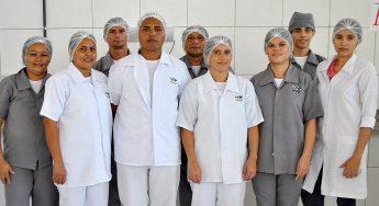 Equipe da ISM no Restaurante Universitário do Campus da Liberdade, em Redenção/CE
