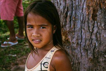 Criança Gamela/Foto: Teia dos Povos e Comunidades Tradicionais do MA