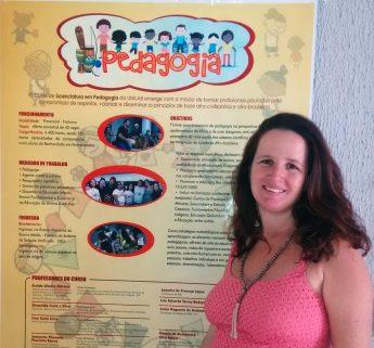 Jeannette Ramos, coordenadora do curso de Pedagogia da Unilab