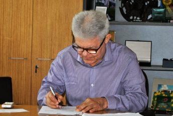 Reitor Pro Tempore da Unilab, Anastácio Queiroz.