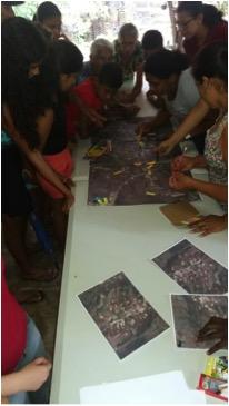 Trabalho de cartografia social junto aos agricultores do Maciço de Baturité.