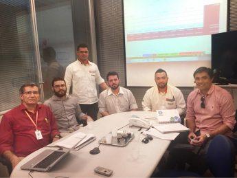 Equipe da Unilab que trabalhou na elaboração do projeto.