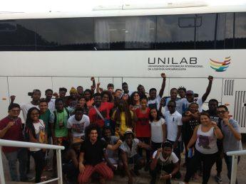 Estudantes da Unilab.