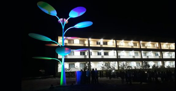 Inauguração da Árvore