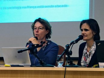 Palestrantes falam sobre a Circulação Internacional de Ideias em Contextos de Produção Científica.