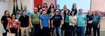 """Participantes do painel """"Profissionalização e Ensino de Sociologia na Educação Básica""""."""