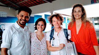 Visita à escola Dr. Brunilo Jacó.