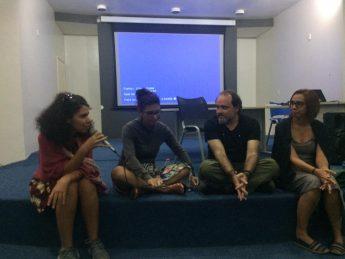 Diálogo com os realizadores do filme Currais.