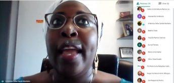 Fala da professpra Artemisa Candé (Proinst).