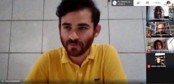 Prof. Olavo Garantizado (Proppg) em momento de fala.